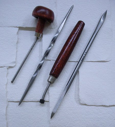 Printmaking Tool Set- Intaglio Set with Roulette FineArtStore