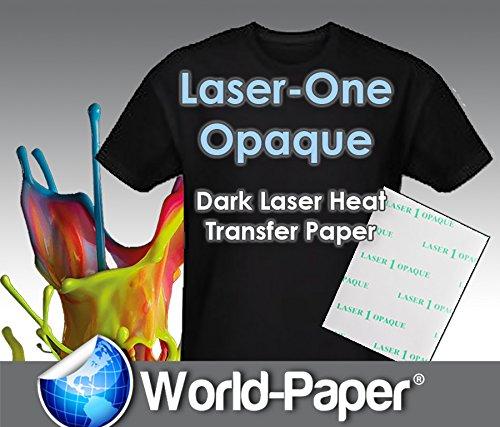 JET-OPAQUE II HEAT TRANSFER PAPER 8.5 X 11'' CUSTOM PACK 25 SHEETS
