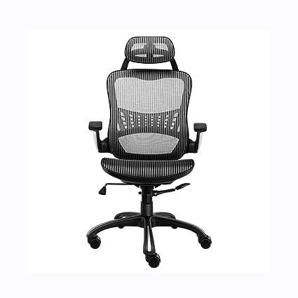 de avec support Chaise réglable ergonomique bureau LEOO 8mwNn0