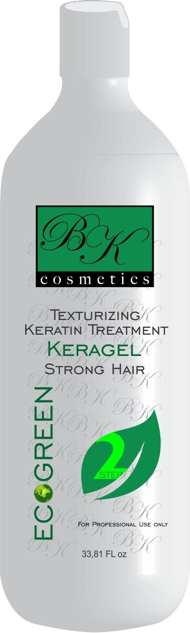 Keratin BK Cosmetics KeraGel Eco-Green Treatment (33.8 Oz) by BK Cosmetics (Image #1)