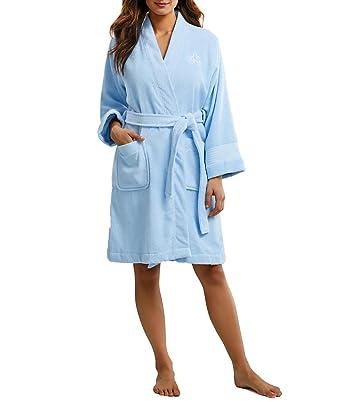 35c5b895c38 LAUREN RALPH LAUREN Greenwich Terry Robe at Amazon Women s Clothing store