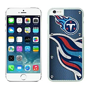 Tennessee Titans iPhone 6 Plus NFL Cases 04 White 5.5 Inches NIC13375 by kobestar