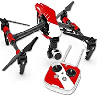 MightySkins Protective Vinyl Skin Decal for DJI Inspire 1 Quadcopter Drone wrap cover sticker skins Scuba Flag