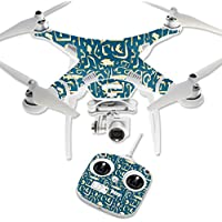 Skin For DJI Phantom 3 Standard – Deco Fish   MightySkins Protective, Durable, and Unique Vinyl Decal wrap cover   Easy To Apply, Remove, and Change Styles   Made in the USA