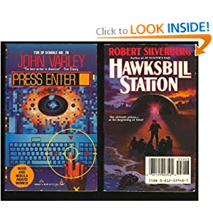 Hawksbill Station and Press Enter (Double Paperback) Robert Silverberg and John Varley