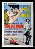 Old Tin Sign Viva Las Vegas Elvis And Ann Margret Classic Vintage Movie Poster MADE IN THE USA