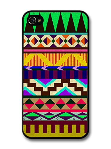 Aztec Mayan Hipster Pattern coque pour iPhone 4 4S