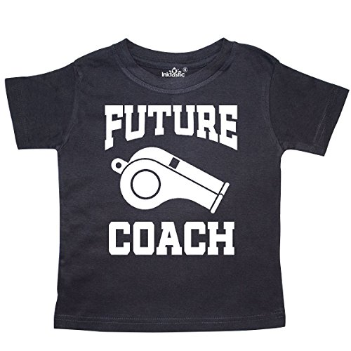 inktastic Future Coach Sports Coaching Toddler T-Shirt 5/6 Black 30525 - Future Toddler T-shirt