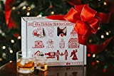 Advent Calendar for Alcohol & Adults | Gift Booze & Wine for Christmas 2019 | Great White Elephant & Holiday Party Hostess Present Idea | Alcohol Not