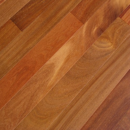 Teak Hardwood Flooring - Cumaru Dark (Sample) - Brazilian Teak Solid Hardwood Floor