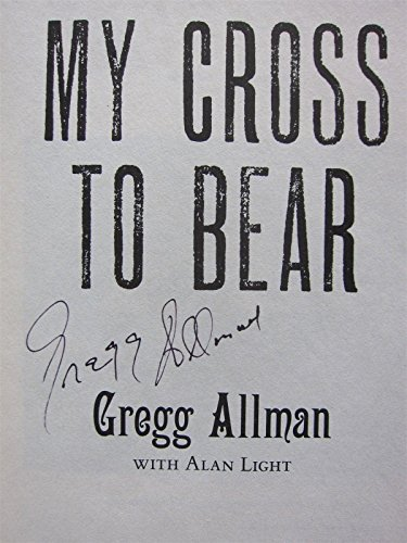 Gregg Allman signed Book My Cross to Bear Allman Brothers PSA/DNA Cert