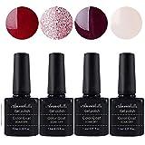 Annabelle Gel Nail Polish Soak Off UV LED Gel Varnish Gel polish (Lot of 4pcs 7.3ML/pc) 044