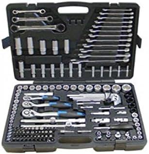 """Fesa - Maletin estuche de herramientas 160 Piezas : ½"""", 3/8"""", ¼"""": Amazon.es: Bricolaje y herramientas"""