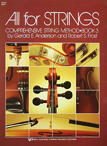(80VN - All For Strings Book 3: Violin)