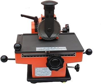 YJINGRUI Impresora Manual de Etiquetas de Metal, rotuladora ...