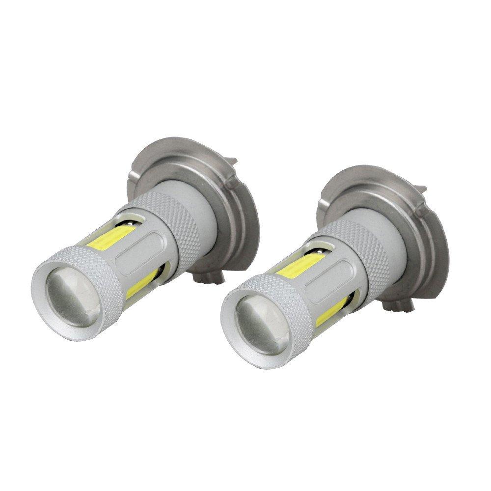 Amiley Automotive H7 Headlight LED Lights Bulbs ,2x H7 High Power COB LED Car Fog HeadLight Driving Lamp DRL Bulb White 80W