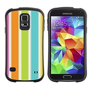 Suave TPU GEL Carcasa Funda Silicona Blando Estuche Caso de protección (para) Samsung Galaxy S5 / CECELL Phone case / / Colorful Beach Summer Vibrant /