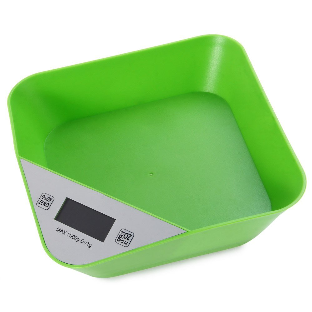 RoyalTop 5000g Capacity Digital Tray Scale LCD Bowl Design Weighing Device
