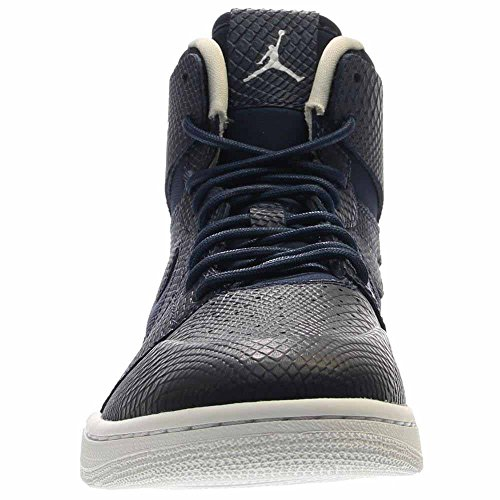 Baloncesto INFRARD WHITE Hombre NIKE MID de NAVY LIGHT High Retro Zapatillas Jordan Nouv BONE 2 1 para Air aaUq8