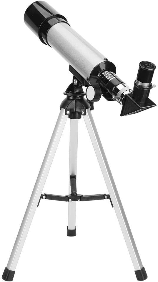 Children Telescope High Definition Mountaineering for Outdoor Leftwei Kid Small Astronomical Telescope Plastic High Magnification Definition Beginner Telescope
