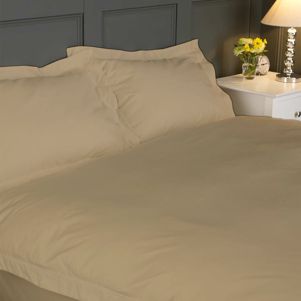 21-25 inches Pocket 1500 TC 100% Egyptian Cotton Hotel Finish Adjustable 1-Piece Waterbed Fitted Sheet .(Queen,Solid,Taupe)