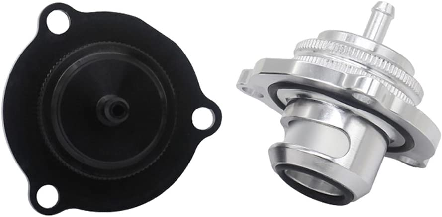 Black 1.4T Overpressure Relief Valve For Vauxhall Astra Corsa Zafira Aluminum Alloy Blow Off Valve