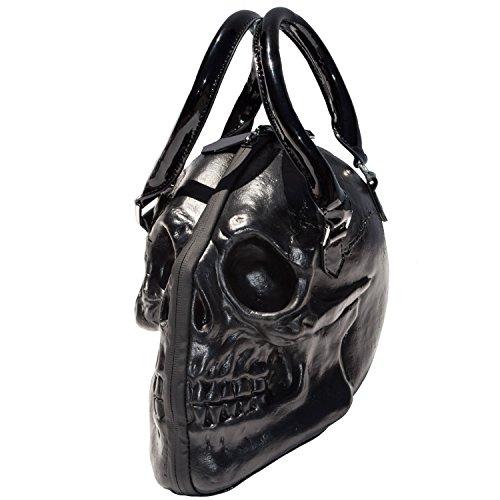 Kreepsville 666 - Bolso mochila  de Material Sintético para mujer negro negro