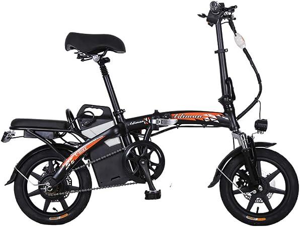 Bicicleta electrica Unisexo Bicicleta hibrida Bicicleta de 14
