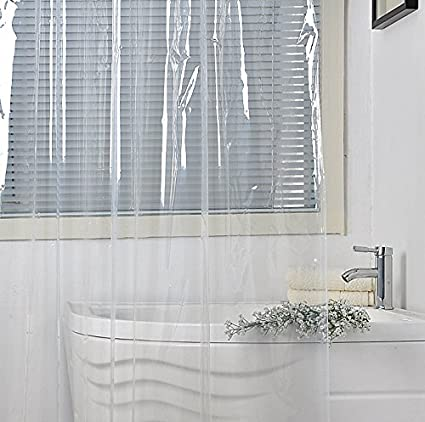 Amazon Eforgift Water Repellent Stall Shower Curtain Liner Mold