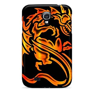 New XztWS6159gasKN Fire Dragon Tpu Cover Case For Galaxy S4