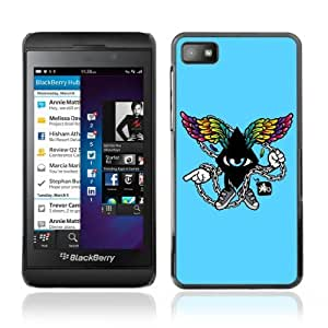 YOYOSHOP [Cool Abstract Wings] Blackberry Z10 Case