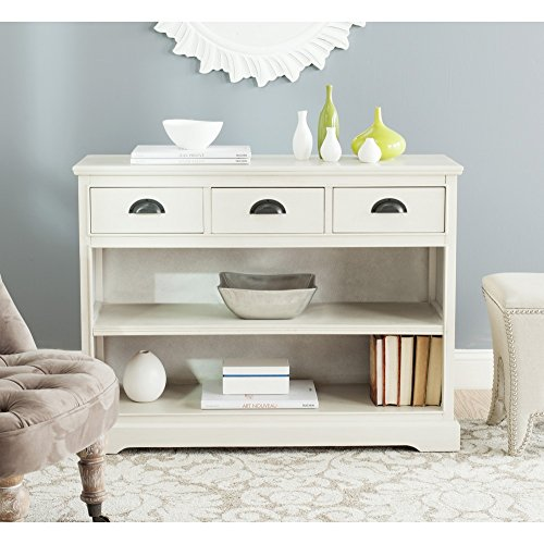 Safavieh American Homes Collection Prudence White Bookshelf Unit