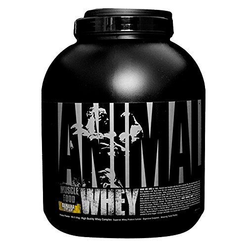 (Universal Nutrition Animal Whey Isolate Loaded Whey Protein Powder Supplement, Banana Cream)