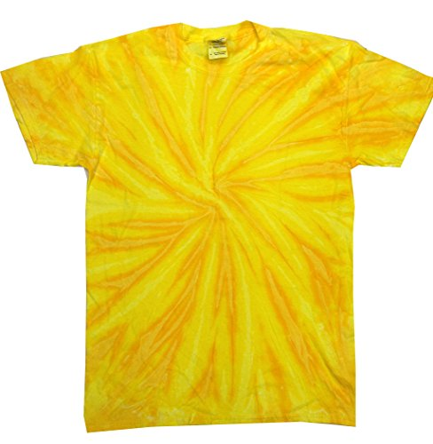 (Colortone Tie Dye T-Shirt 3X Neon Pineapple)