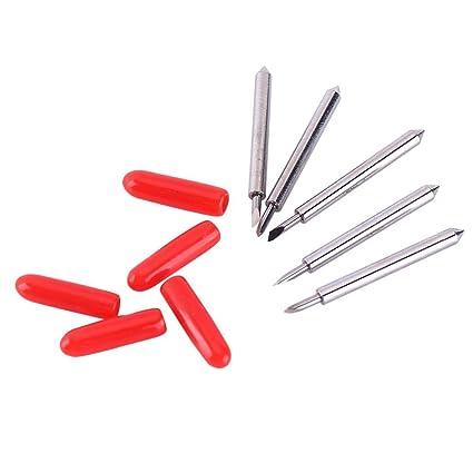 15 piezas de cortador de vinilo de acero de tungsteno Plotter ...