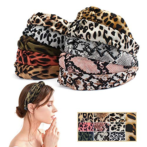 Leopard Headbands Hairbands Wrapped Accessories product image