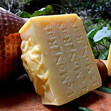 Handmade All Natural Lemongrass Soap with Lemon Essential Oil (Stimulant & Cooling Soap)