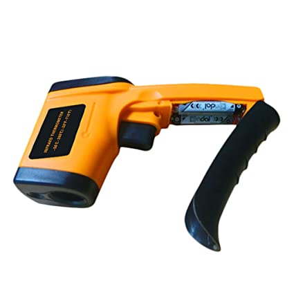 Albio LCD Digital Non-Contact IR Industrial Gun Infrared Thermometer