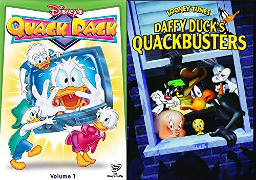 - Quacky Duck Pack: Quack Pack Disney DVD & Quackbusters Daffy Duck Looney Tunes DVD Cartoon Series Bundle