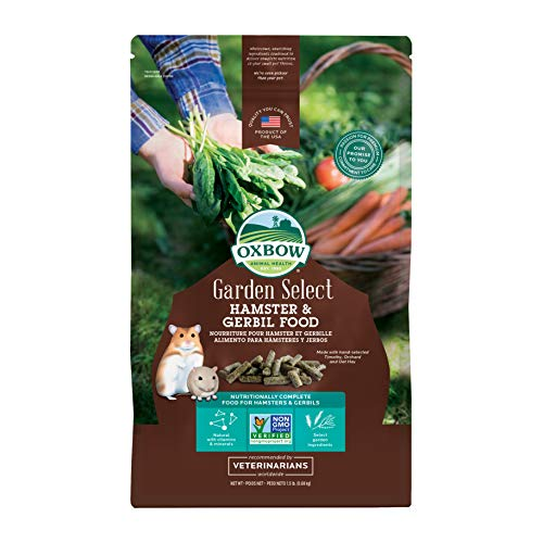 Oxbow Hamster And Gerbil - 1.5 Pound Bag - Garden Select ()