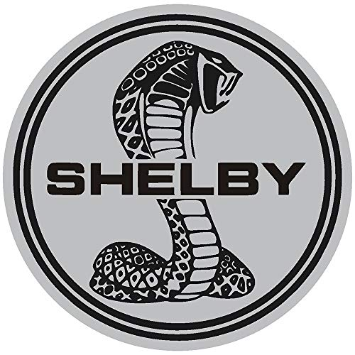 Shelby Cobra Mustang Ford Hot Rod Muscle Car Performance Circle Police Printed Decal Sticker - 5