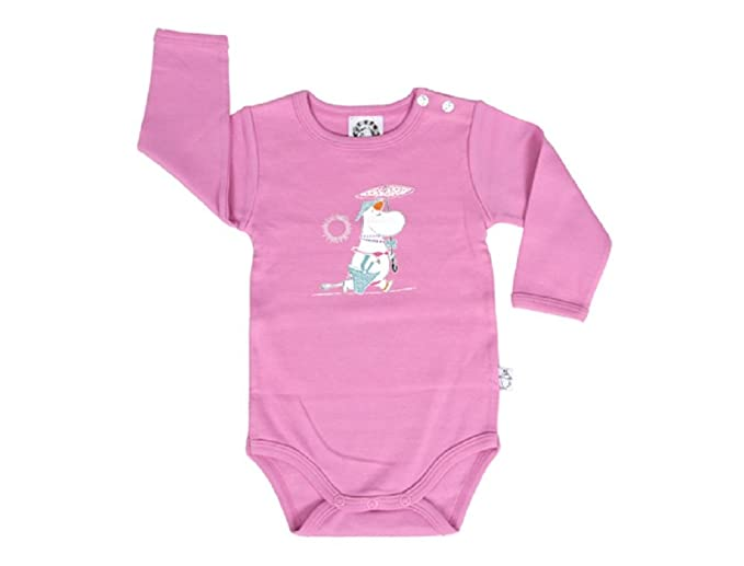 Moomin Blue Cute Baby Boys // Girls Romper Age 3-24 M 74-12-15 Month Old Bodysuit Jumpsuit with Long Sleeves