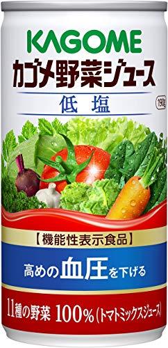 카고메 (KAGOME) 야채 쥬스 저염 캔 190g×30개