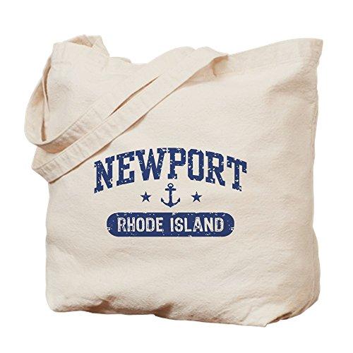 CafePress - Newport Rhode Island - Natural Canvas Tote Bag, Cloth Shopping - Newport Rhode Island Shopping