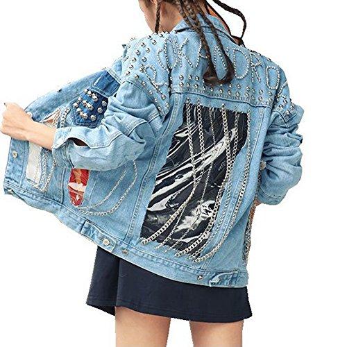 babylack-women-new-rivet-rock-chain-tassel-denim-coat-spliced-loose-outwear-punk-jean-jacket