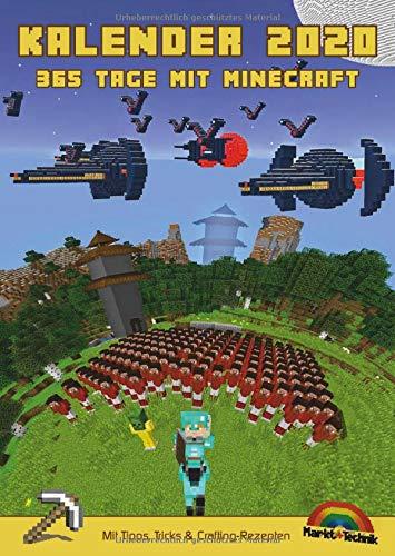 Kalender 2020   365 Tage Mit Minecraft Inklusive Tipps Tricks And Crafting Rezepten Im DIN A4 Format