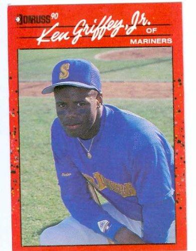 Ken Griffey Jr Baseball Card 1990 Donruss 365 Seattle