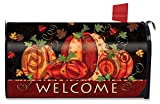 Briarwood Lane Fall Festival Pumpkin Magnetic Mailbox Cover Welcome Primitive Standard