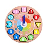 DOUYYE Wooden Educational Toys Shapes Sorting Teaching...