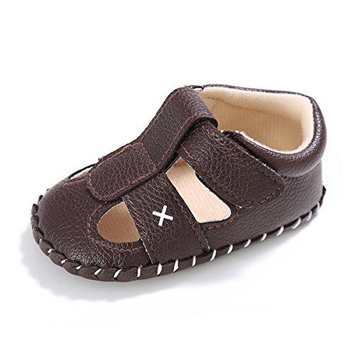 Sakuracan Baby Boys Summer Sandals Infant Girls Soft Sole Newborn Todddler First Walkers Crib Shoes